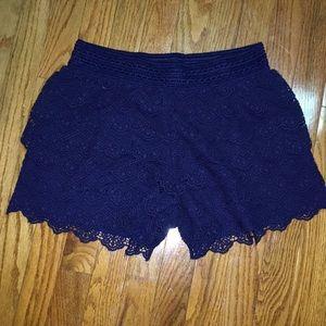 Girls plus size shorts